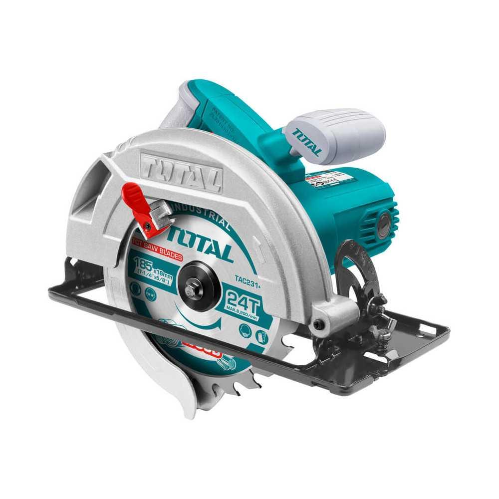 "Sierra Circular 185mm (7 ¼"") 1400W Total Tools TS1141856"
