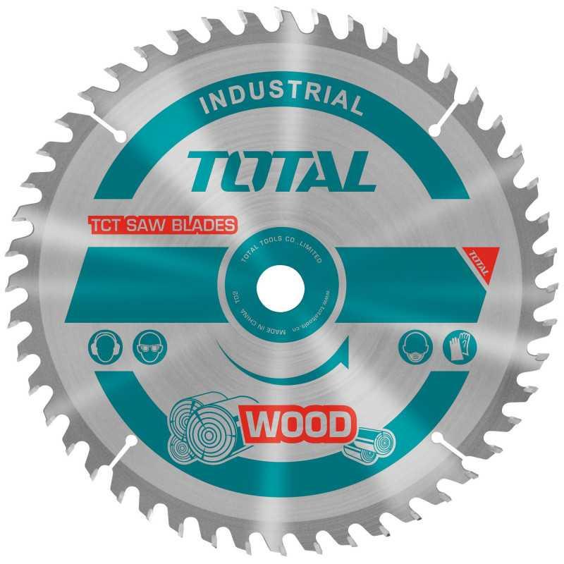 "Disco Sierra Madera 4-1/2"" x 40 Dientes Eje 22.2mm Total Tools TAC231255"