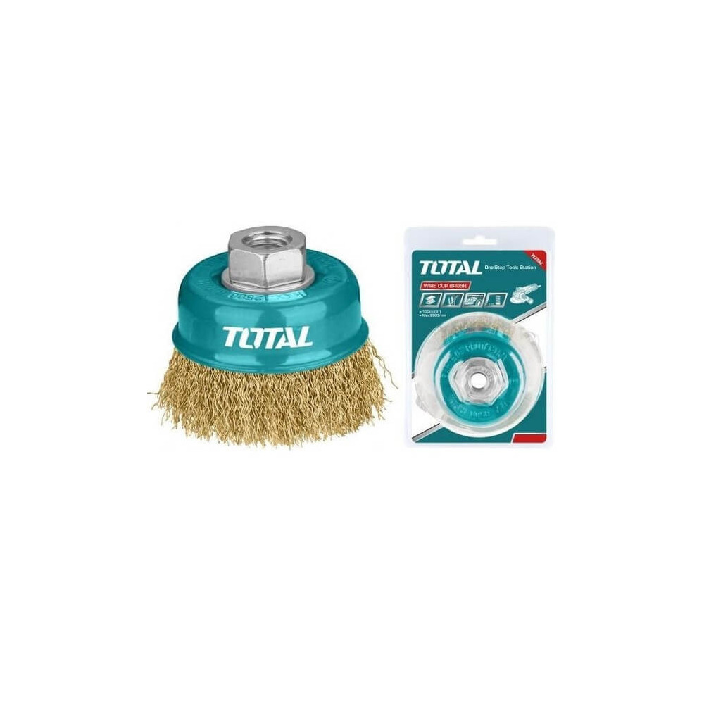 Grata Copa Bronce 75mm Total Tools TAC31031
