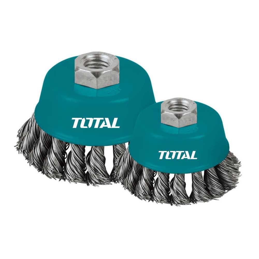 Grata Copa Acero 100mm Total Tools TAC32041