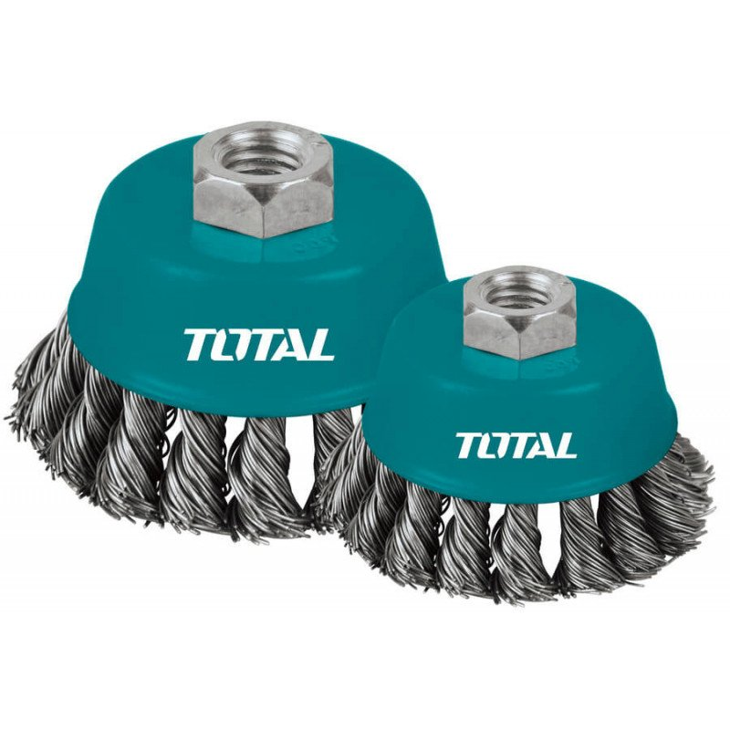 Grata Copa Acero 100mm Total Tools TAC32041