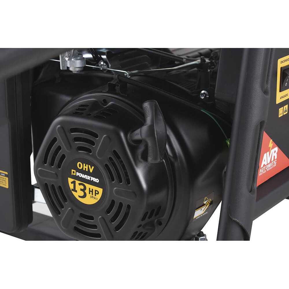 Generador Eléctrico 5 Kva Gasolina GE5500-V Power Pro 103010287