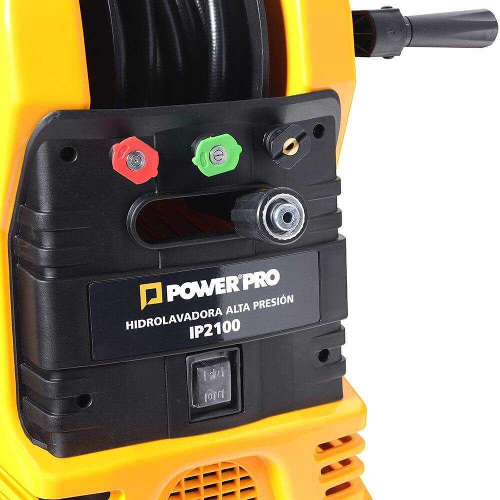 Hidrolavadora Alta Presión Eléctrica 1.800W IP2100 Power Pro 103010381