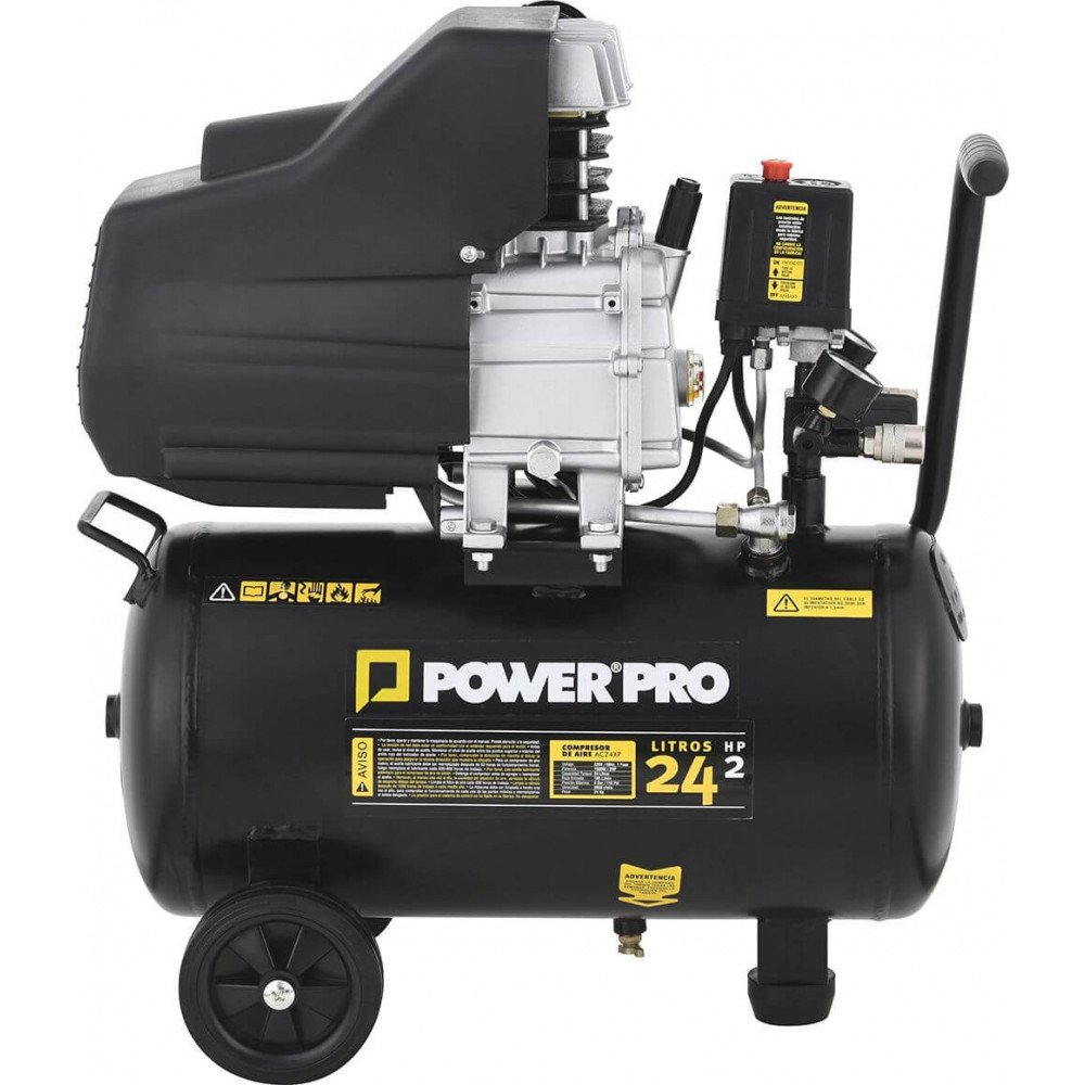 Compresor DE AIRE 24LT/2HP AC24XP/KIT Power Pro 103010757