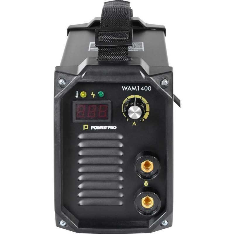 Soldadora Inverter 140A 5.6kva WAM1400 Power Pro 103011482