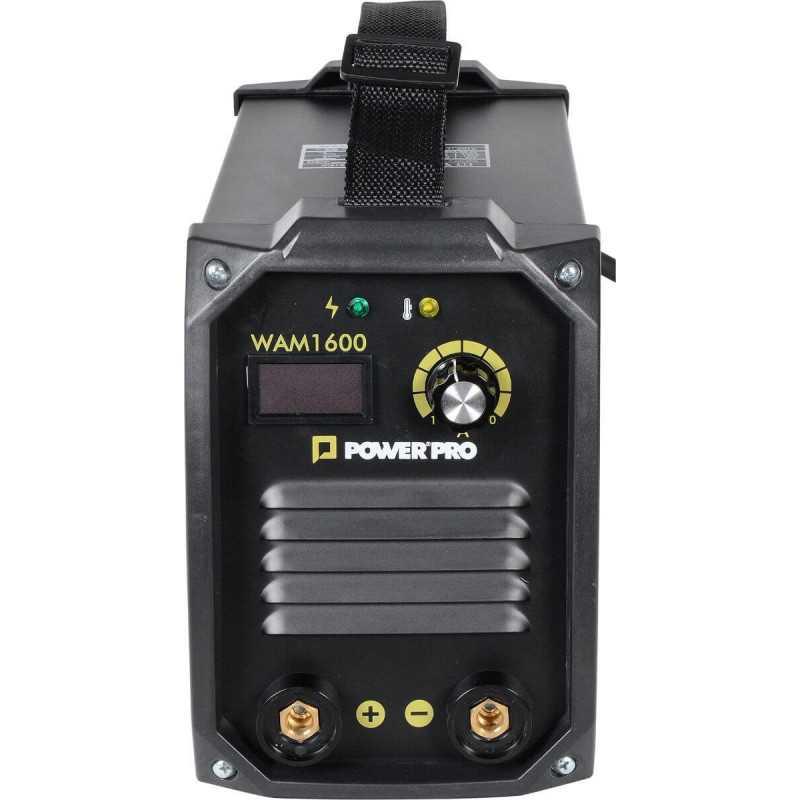Soldadora INVERTER 160A 6kva WAM 1600 Power Pro 103011480