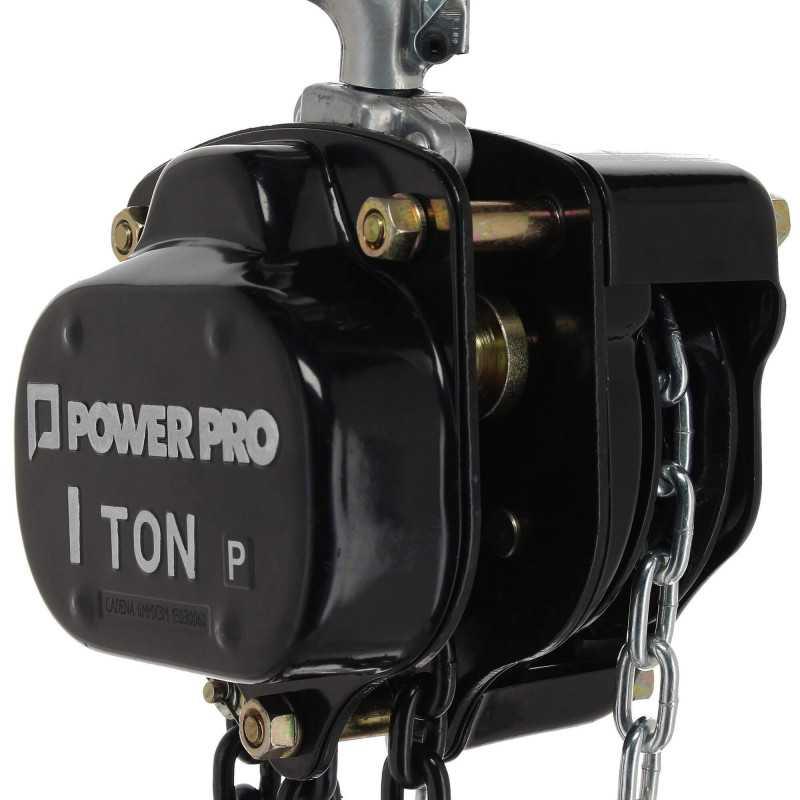 Tecle Cadena Manual 1 Tonelada Power Pro 103010761