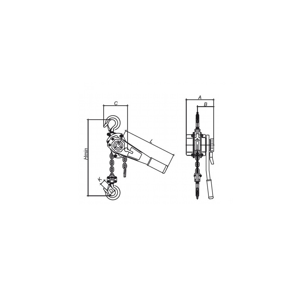 Tecle Palanca 3 Toneladas Power Pro 103010768