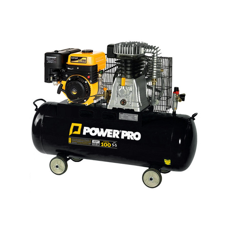 Compresor de Aire a Gasolina 5.5HP 100L AC1000GE Power Pro 600000624