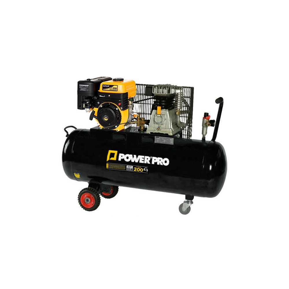 Compresor de Aire a Gasolina 6.5HP 200L AC2000GE Power Pro 600000625