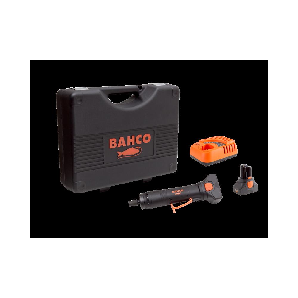 Rectificador Inalámbrico 14.4V 6mm + 2 Baterías + Cargador + Maleta Bahco BCL32DG1K1