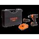 """Taladro Atornillador Inalámbrico 18V 13mm-1/2"""" Sin Escobillas + 2 Baterías + Cargador + Maleta Bahco BCL33D1K1"""
