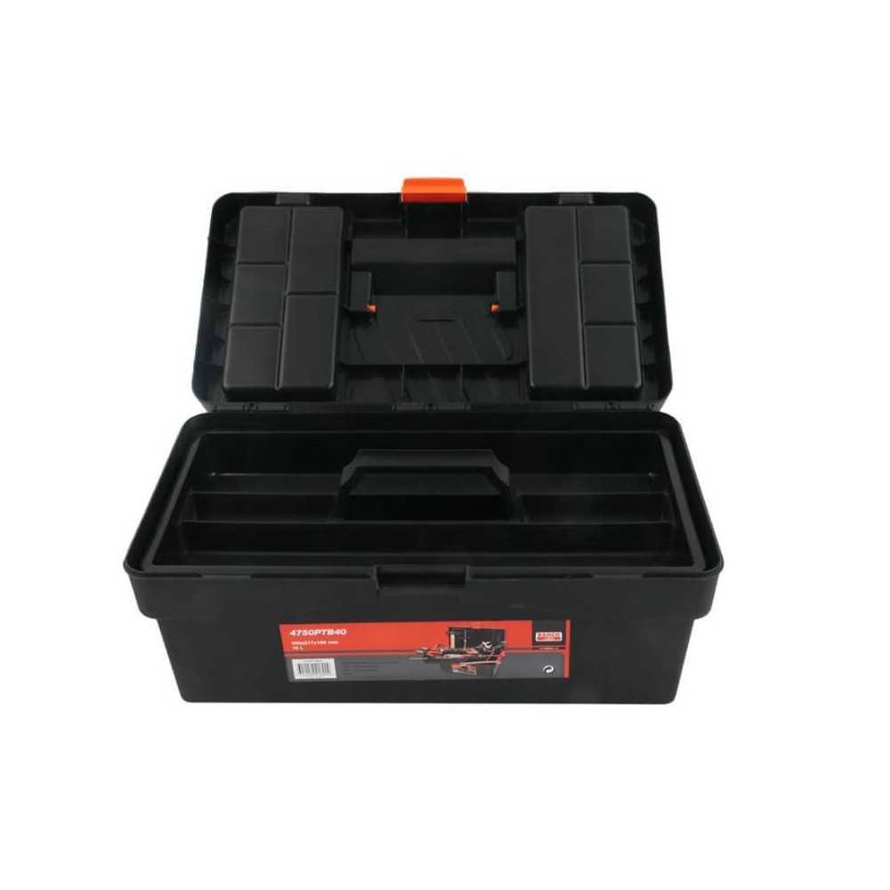 Caja porta herramientas 10 Lt. 400x217x166mm Bahco 4750PTB40