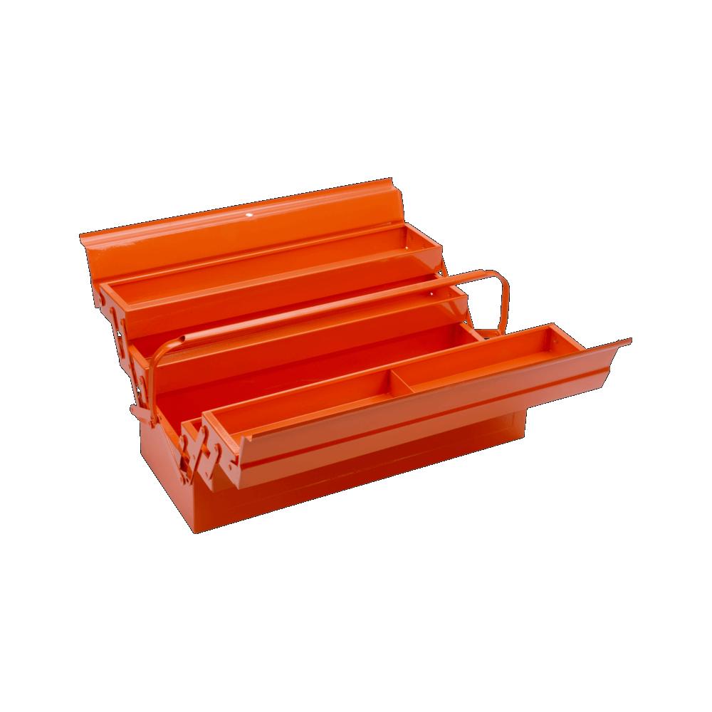 Caja porta herramientas 5 compatimientos Bahco 3149-OR