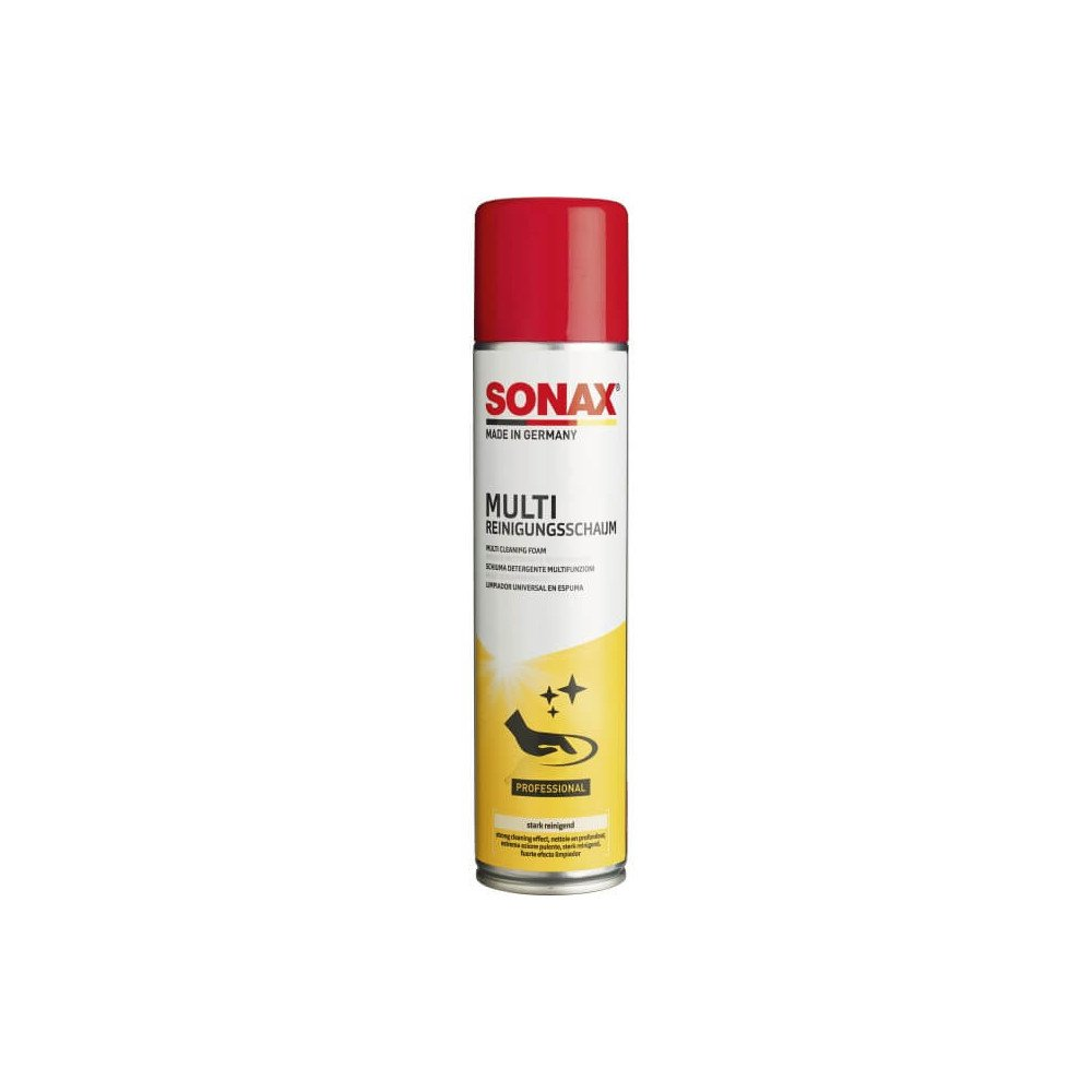 Limpiador Universal En Espuma 400 Ml Sonax 34480300