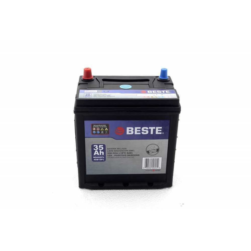 Batería para Automóvil 35Ah Positivo derecho Beste 39NS40ZLFGB