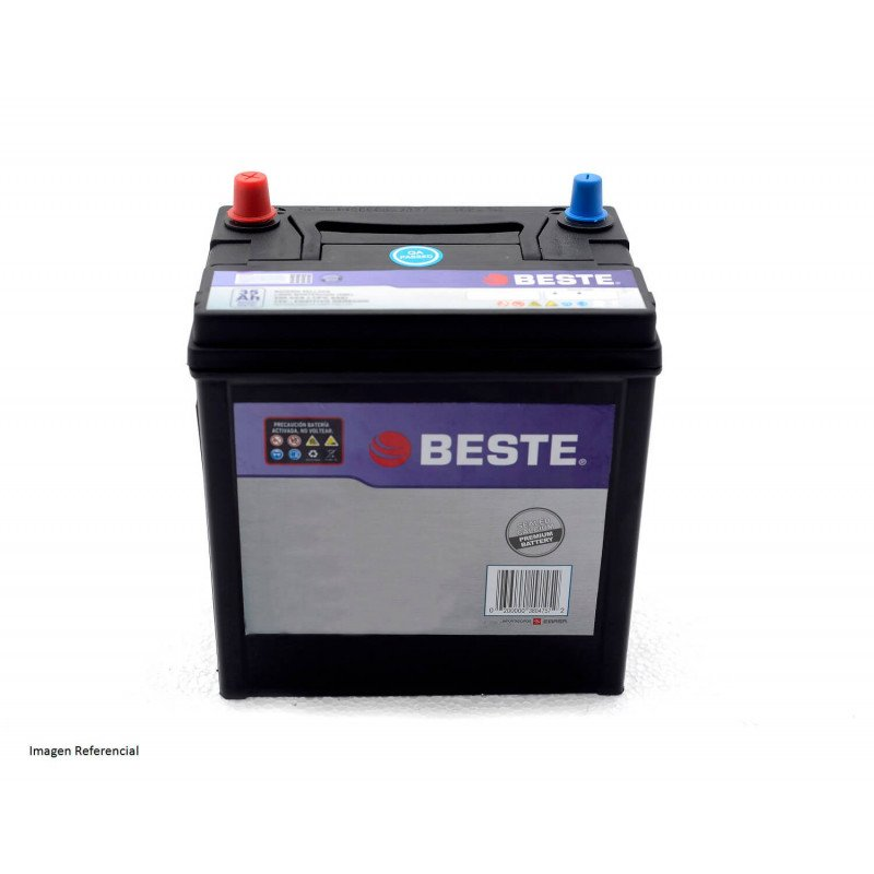 Batería de Auto 55Ah Positivo derecho Beste 3955530GB