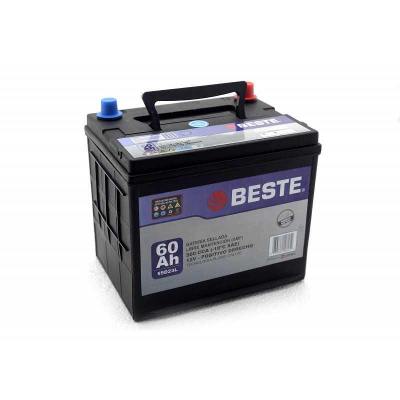 Batería de Auto 60Ah Positivo derecho Beste 3955D23LGB