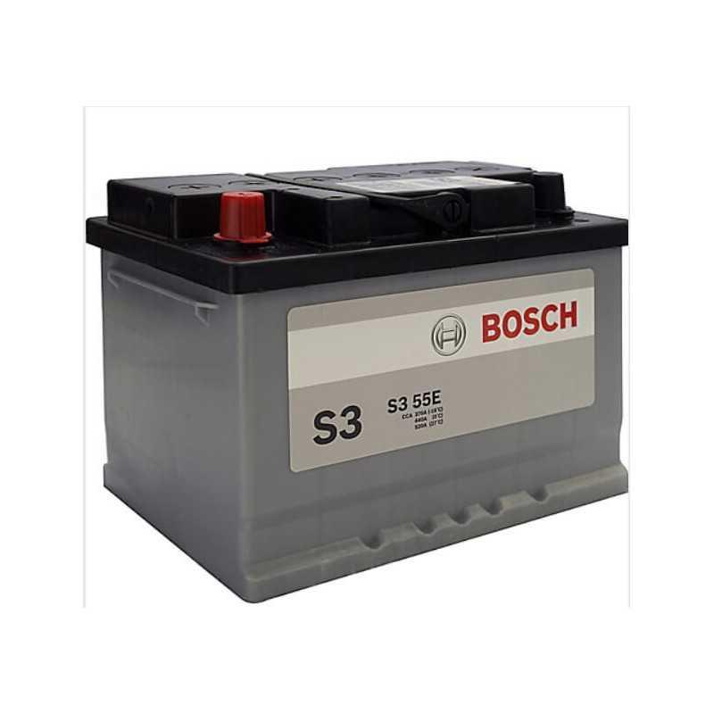 Batería para Automóvil 55Ah Positivo Izquierdo Bosch 39S355E