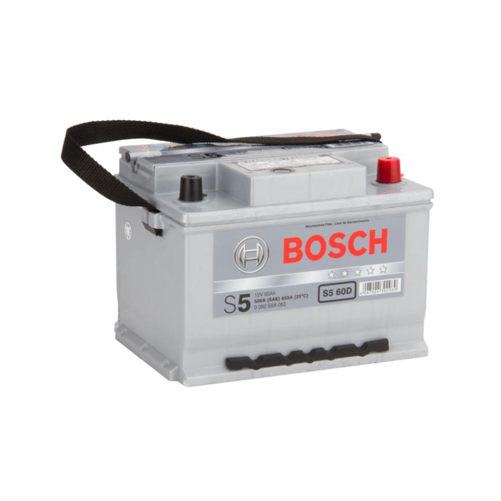 Batería para Automóvil 60Ah Positivo Derecho Bosch 39S560D-E