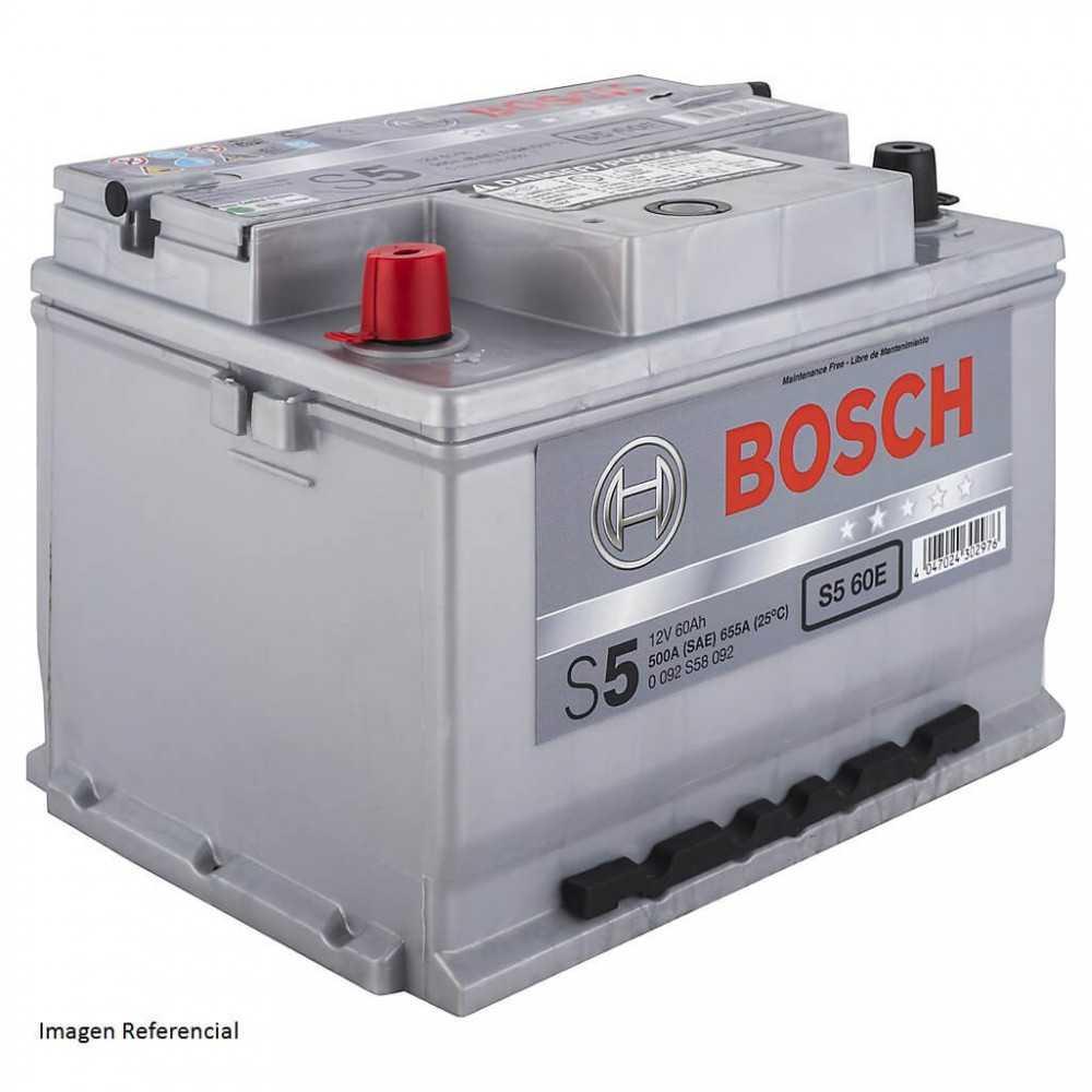 Batería de Auto 60Ah Positivo izquierdo Bosch 39S560E-E