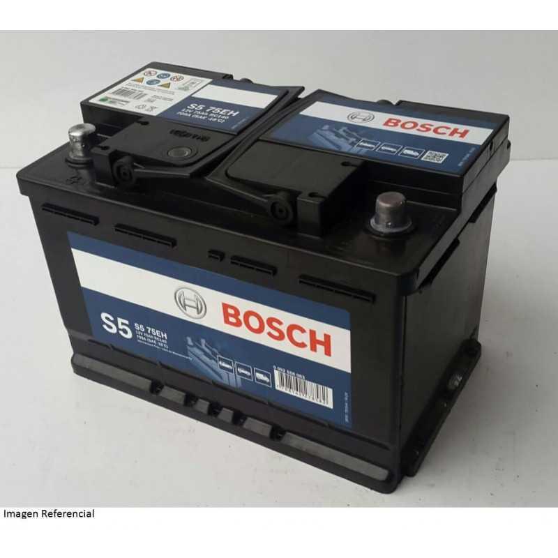 Batería de Auto 75Ah Positivo Izquierdo Bosch 39S575E-E