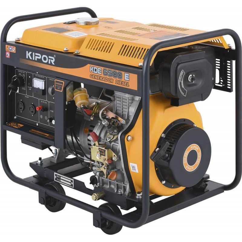 Generador Eléctrico diesel 5 Kva KDE-6500E Kipor 305010002