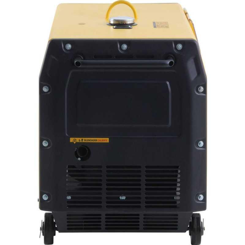 Generador Insonorizado Monofásico Diésel KDE-7000TD 5.0 Kva Kipor 305010004