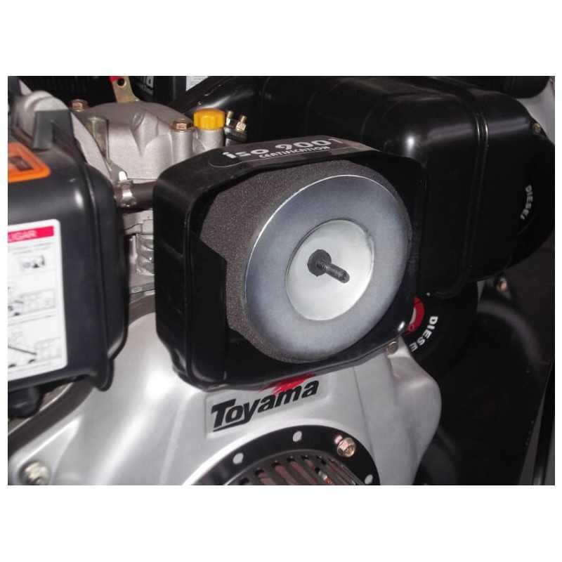 Motor Diésel Partida Manual 10 HP Toyama TD100FJ