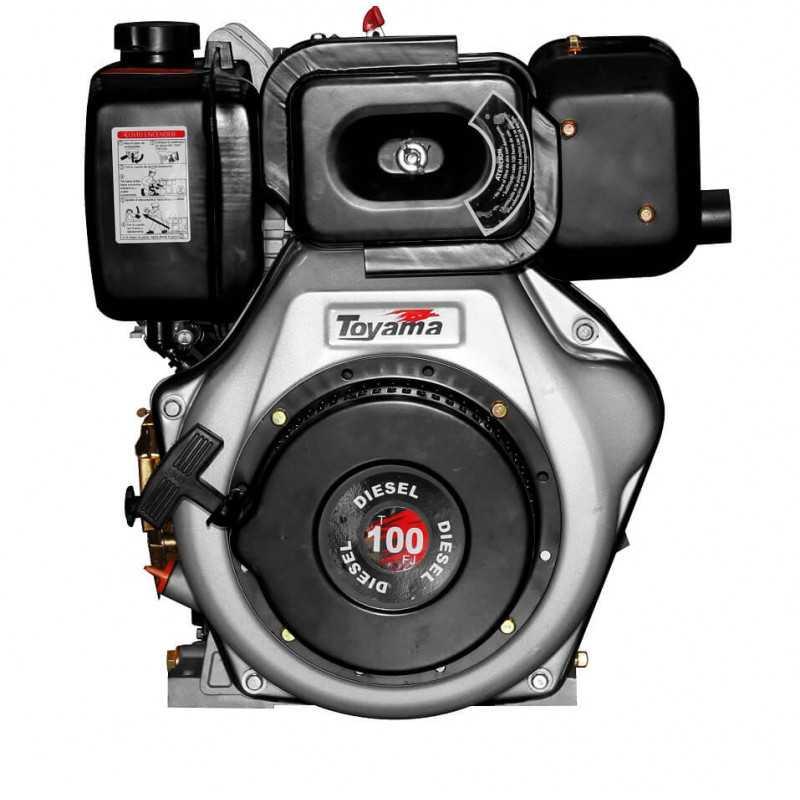 Motor Diésel Partida Eléctrica 10 HP Toyama TD100FEJ