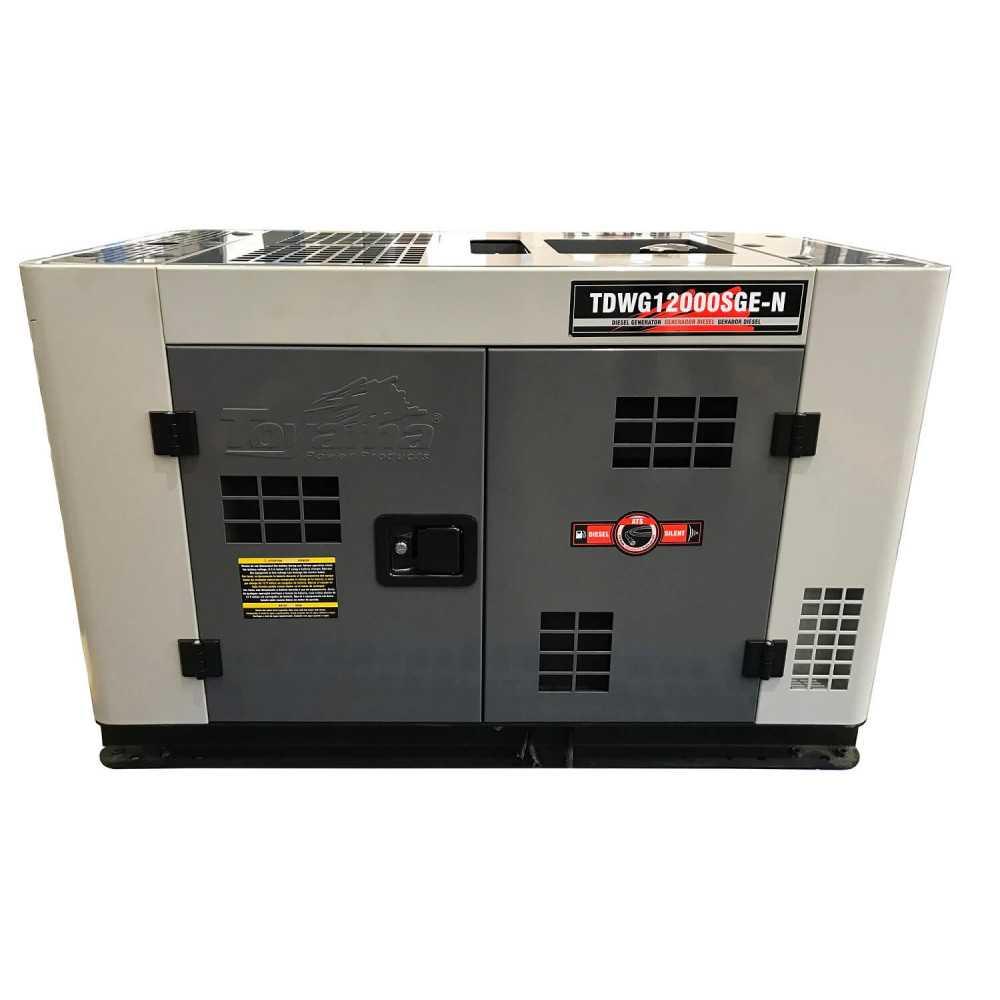 Generador Eléctrico Diésel Trifásico 11.5 KVA ATS Incorporado Toyama TDWG12000SGE3