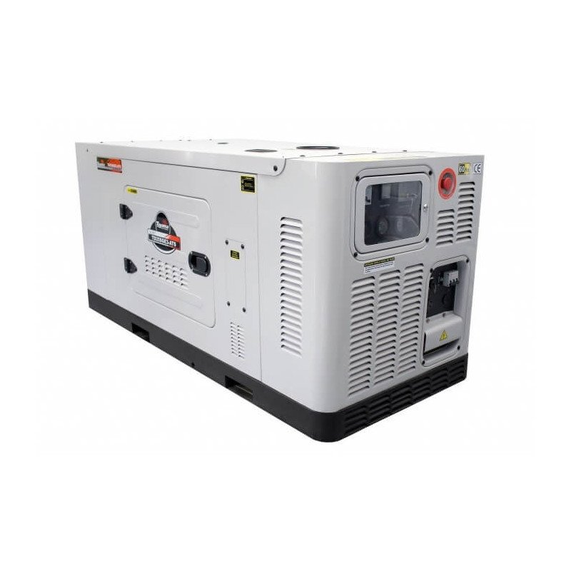 Generador Eléctrico Diésel 17.6 KW Trifásico Cabinado Sin ATS Toyama TD20SGEJ