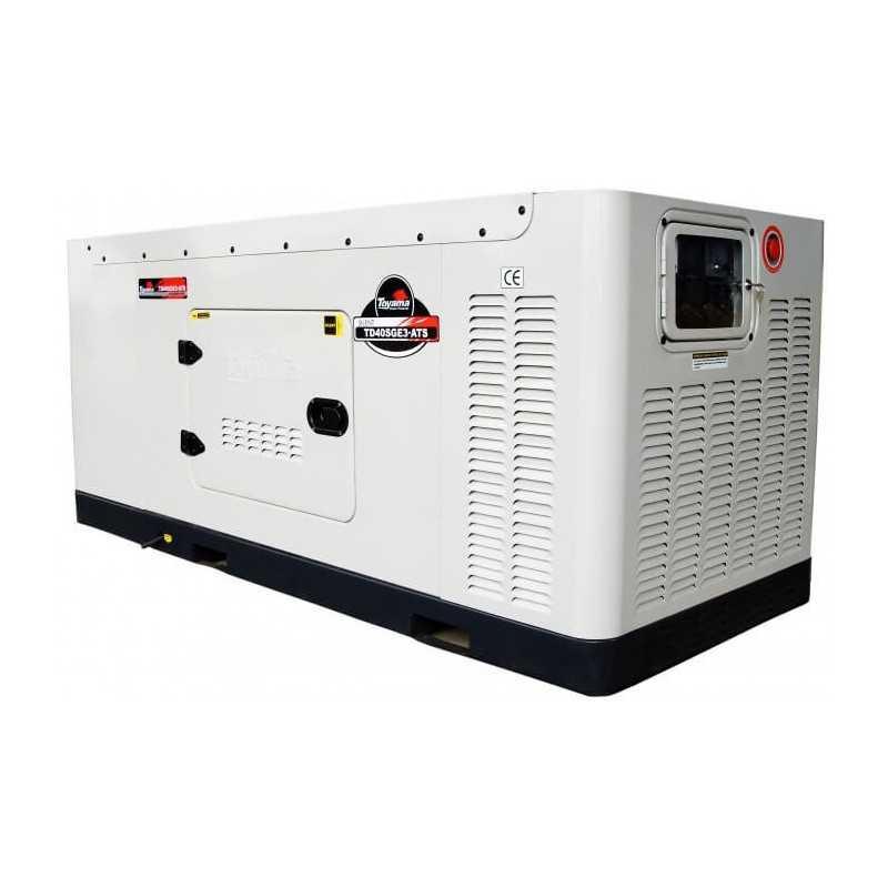 Generador Eléctrico Diésel 41.25 KVA Trifásico Cabinado Sin ATS Toyama TD40SGEJ