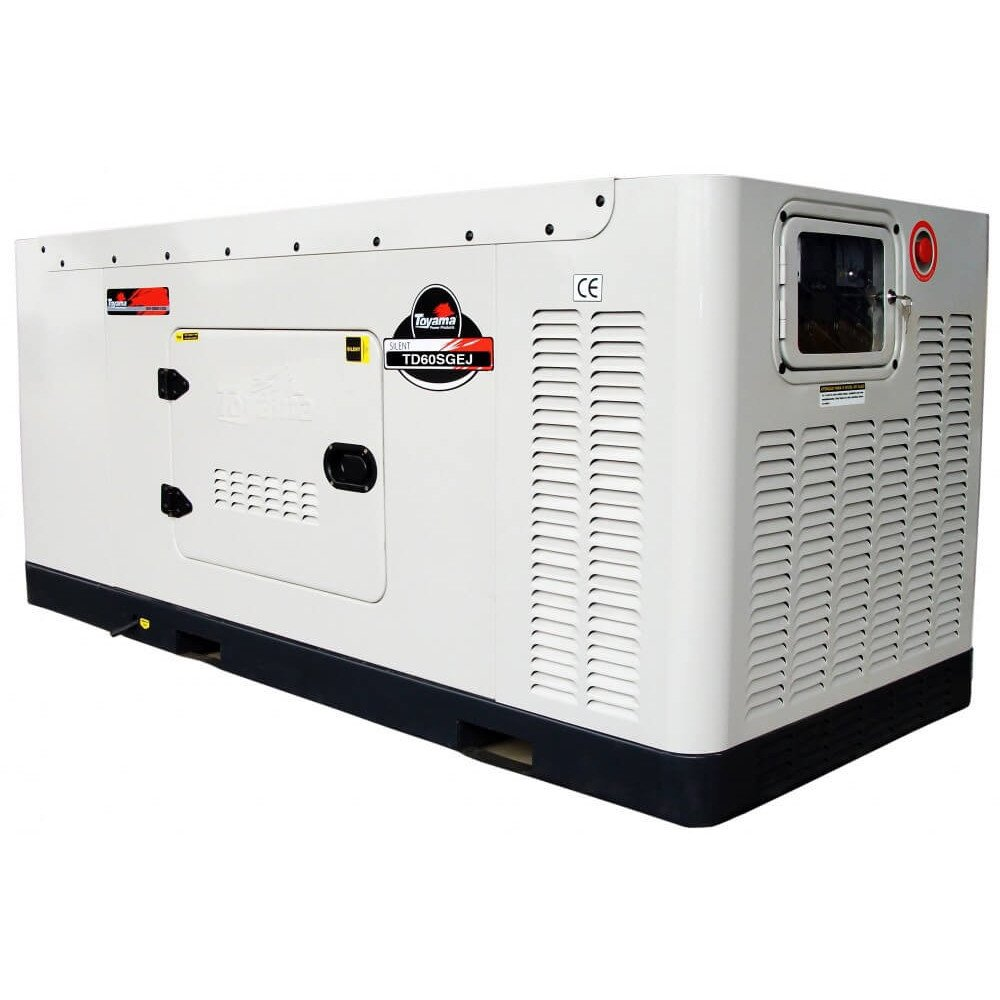Generador Diésel 60 KW Trifásico Cabinado Con ATS Toyama TD60SGEJ-ATS