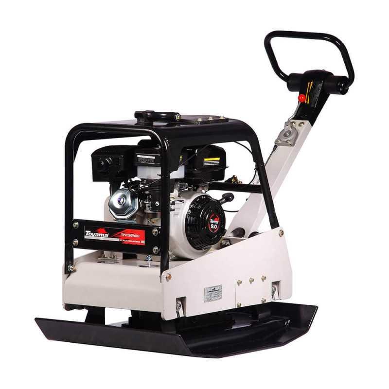 Placa Compactadora Diésel 10 HP Partida Eléctrica Reversible Hidráulica Toyama TPC260WRH-A