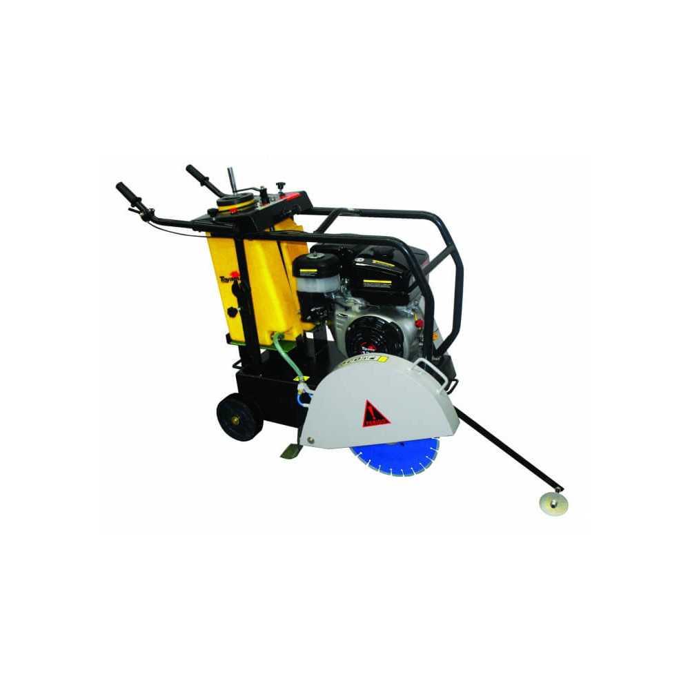 Cortadora de Pavimento 13 HP Gasolina Disco 350 MM Toyama TCC450-A