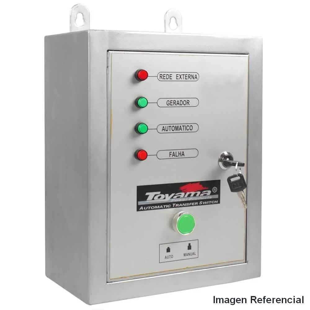 ATS - Tablero de Transferencia 63A Trifásico para Generador Diésel TD20 Toyama ATS-20