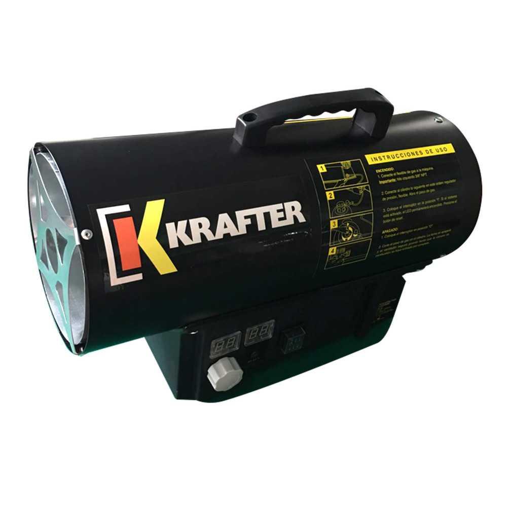 Turbo Calefactor a gas 15 KW Modelo TG15 Krafter 1810000001513