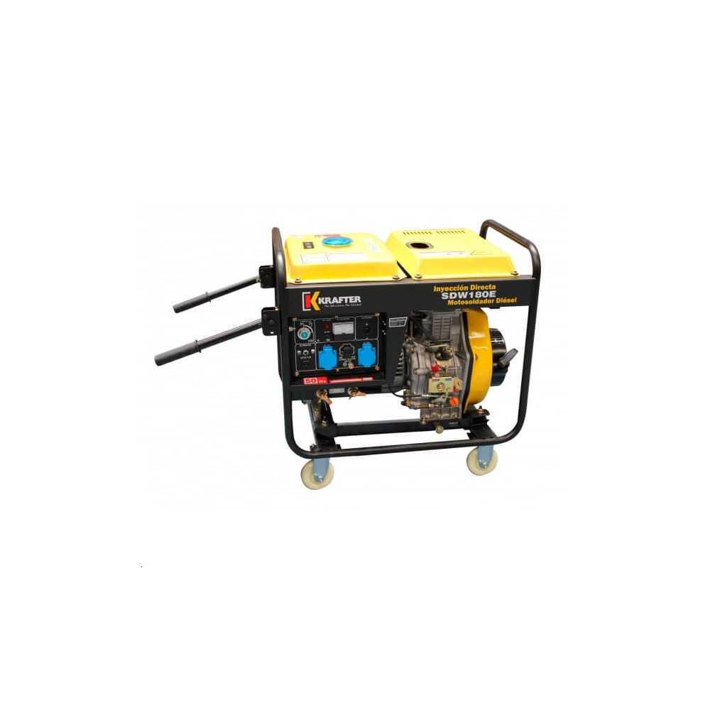 Motosoldadora Diesel 4000W SDW180E Krafter 4482000020180