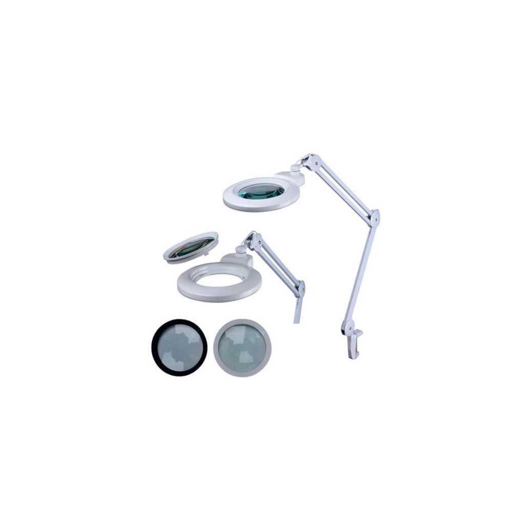 Lámpara de Aumento con Lente Circular 127mm 1.75X 3 Dioptrías Intbright 9006LED-3D