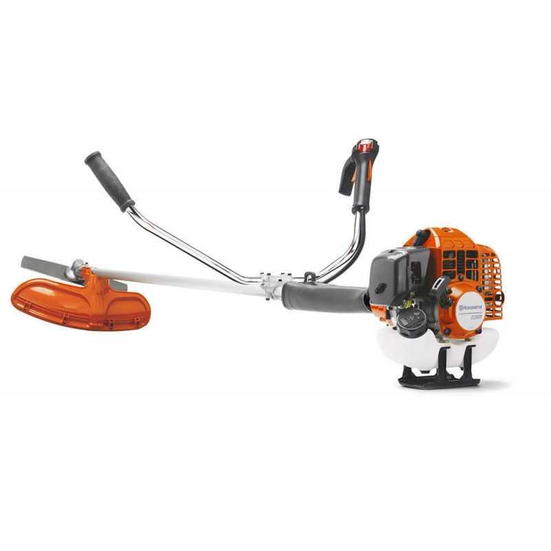 Desbrozadora 236R 33.6 cc 1.63 HP +Pomo Grasa+Nylon Husqvarna 967 3316-01T