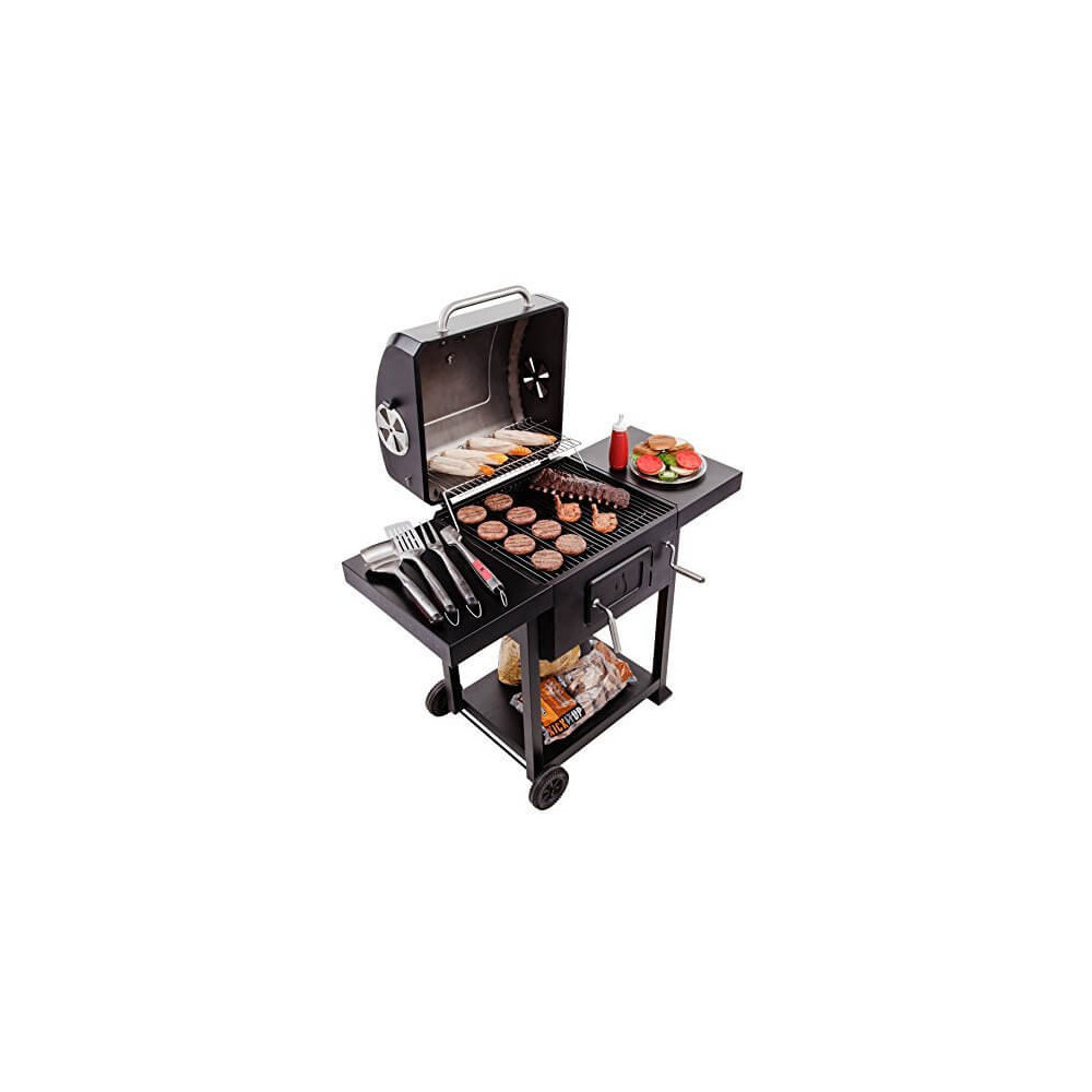 Parrilla a Carbón Iron Grill 580 CHAR-BROIL 16302038