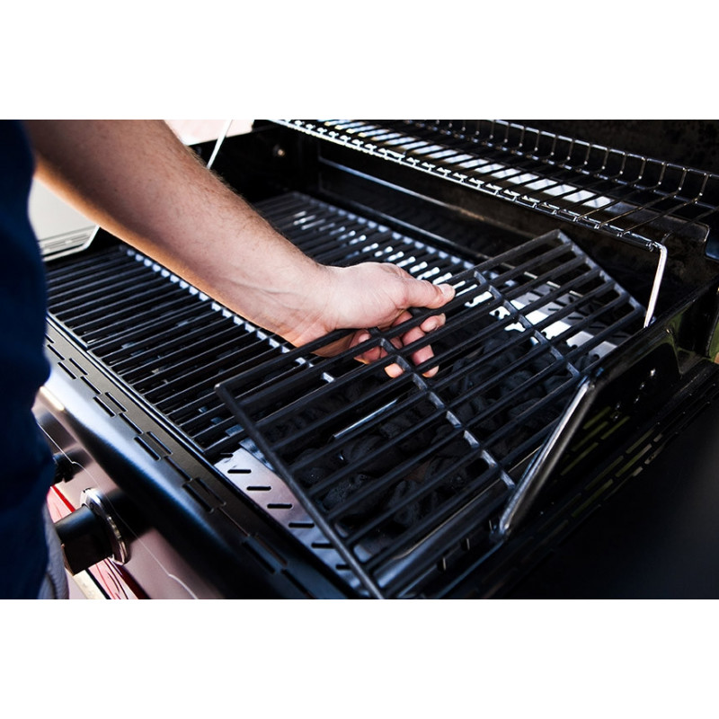 Parrilla híbrida de gas y carbón Gas2Coal CHAR-BROIL 467750317