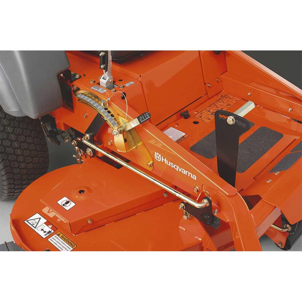 """Tractor 24 HP 54"""" Giro Zero Z 254 Husqvarna 967 3241-01"""
