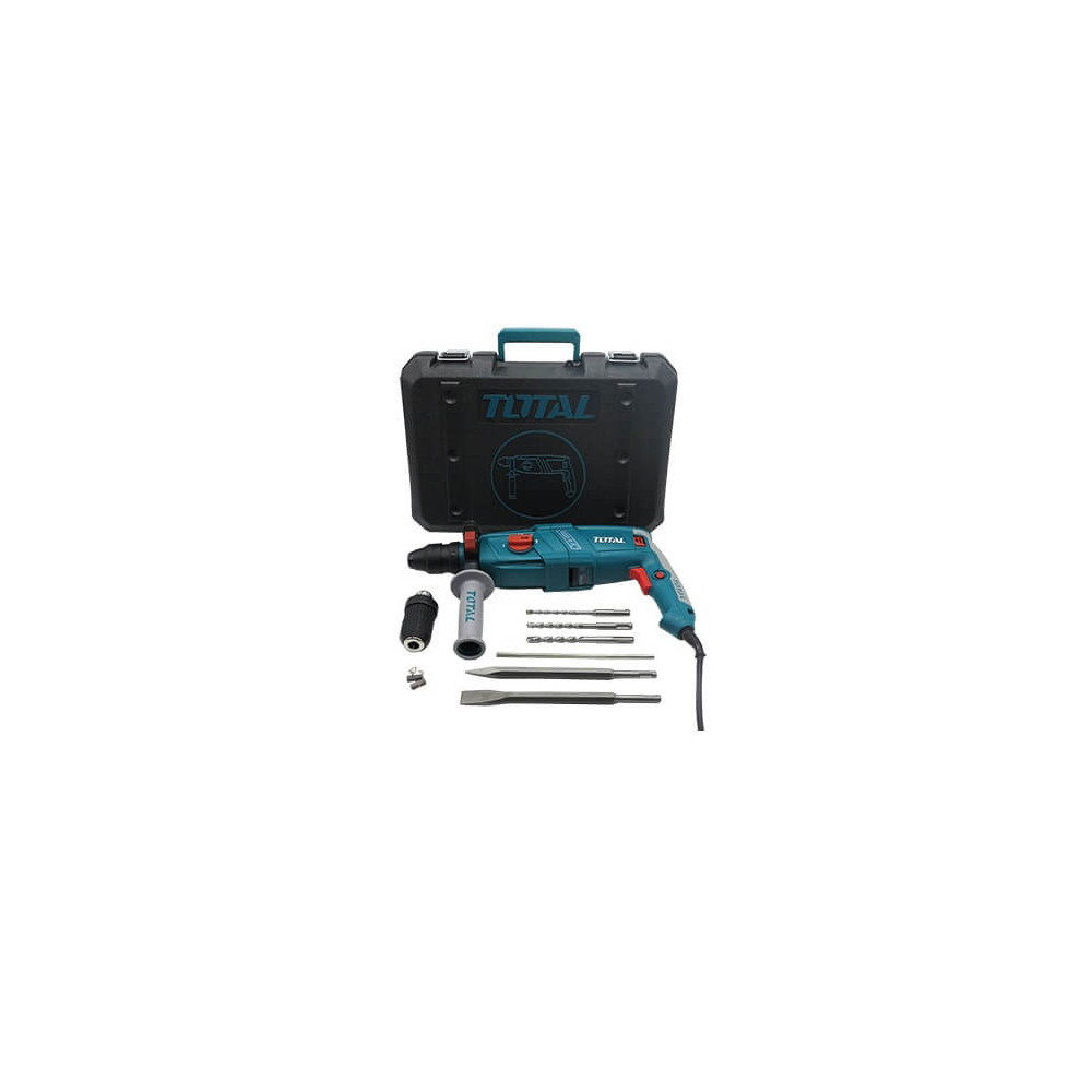 Rotomartillo SDS PLUS 800W Total Tools TH308266-2