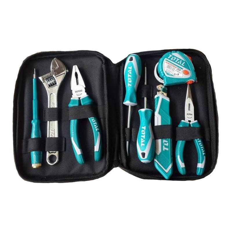 Set de Herramientas 8 piezas Total Tools THKTHP90086