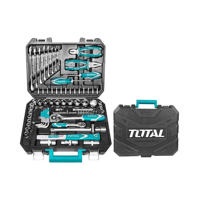 Set de Herramientas 77 piezas Total Tools THKTHP20776