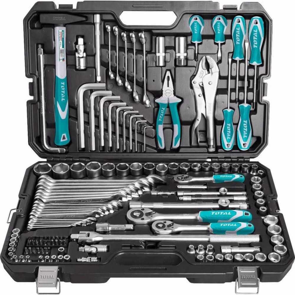 Set de Herramientas 142 Piezas Total Tools THKTHP21426