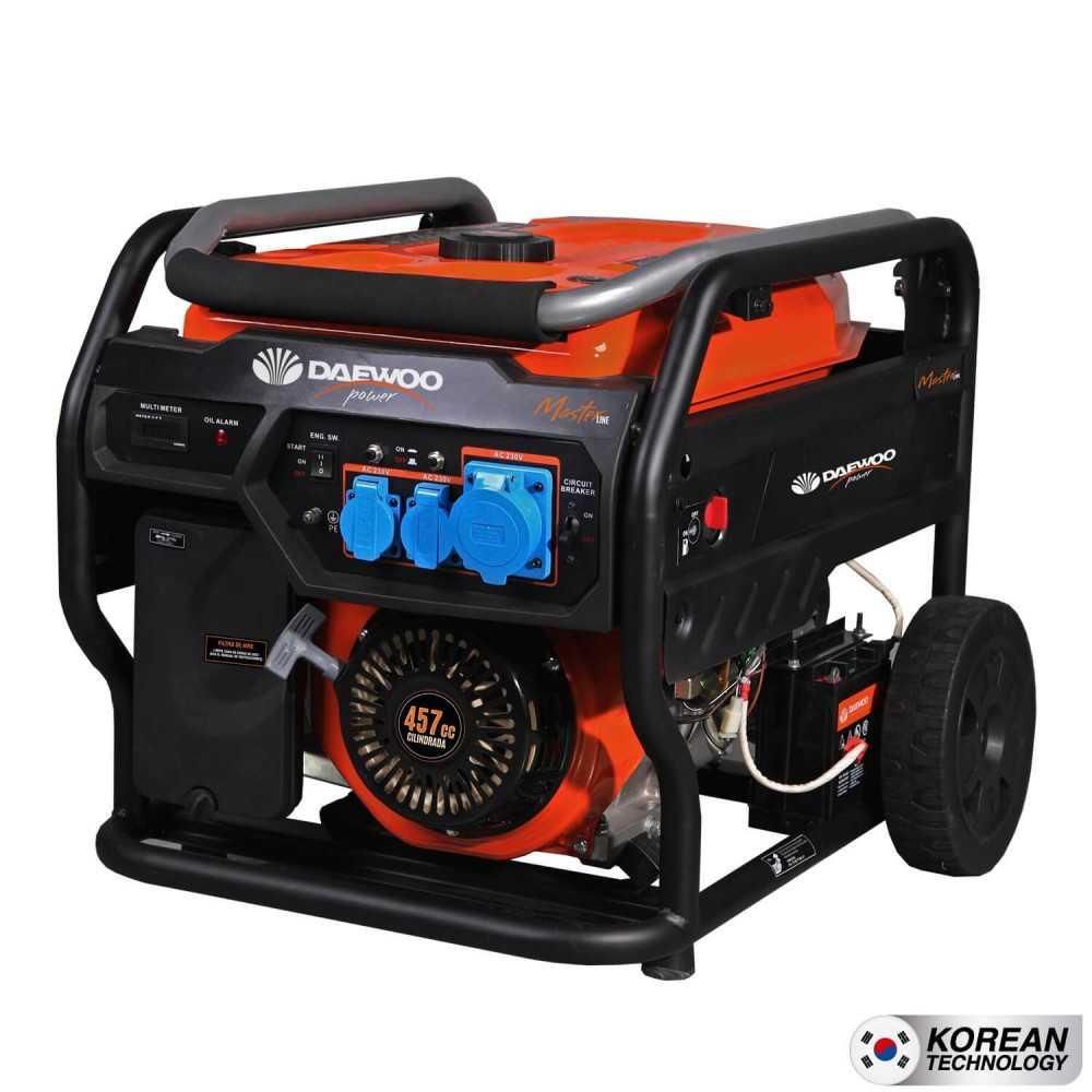 Generador Eléctrico a gasolina 8kw partida eléctrica GDA11050E Daewoo 7799034004186
