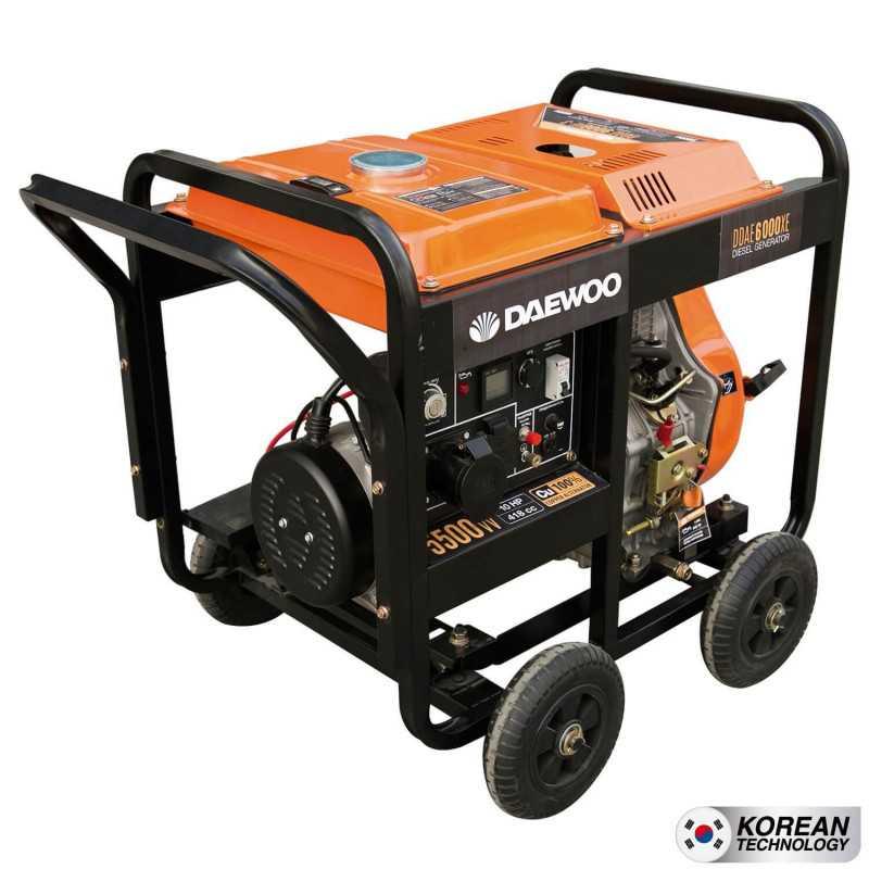 Generador Diesel 5kva Partida eléctrica DDAE6000XE Daewoo 7798125047880